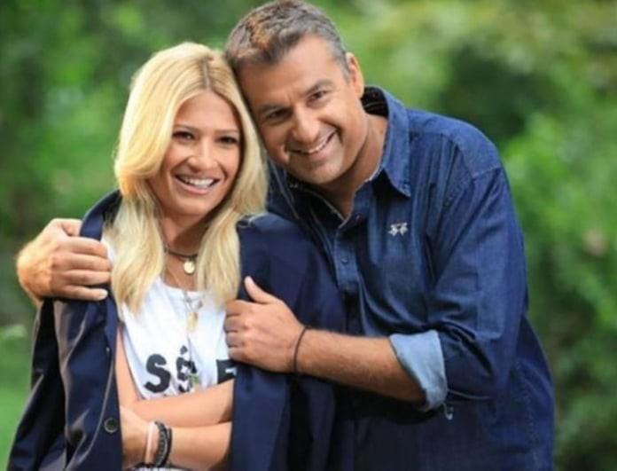 Φαίη Σκορδά - Γιώργος Λιάγκας: Ξανά μαζί! Οι κοινές τους διακοπές στο νησί!