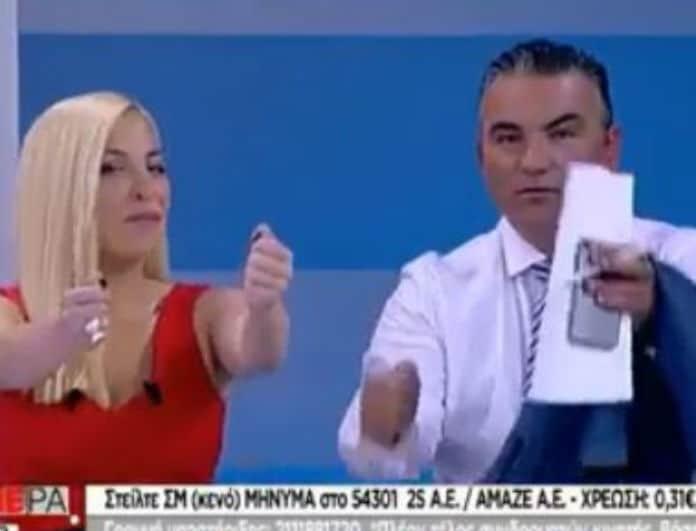 ΣΚΑΙ: Έπος! Αναστασοπούλου - Ντσούνος χόρεψαν on air το... «Mama»!