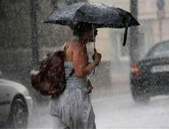 Ο καιρός «τρελάθηκε»! Βροχές και καταιγίδες σήμερα! Που θα «χτυπήσουν»;