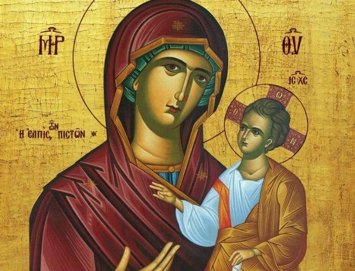 Απίστευτο! Η σπάνια εικόνα της Παναγίας απ' όταν ήταν 3 ετών!