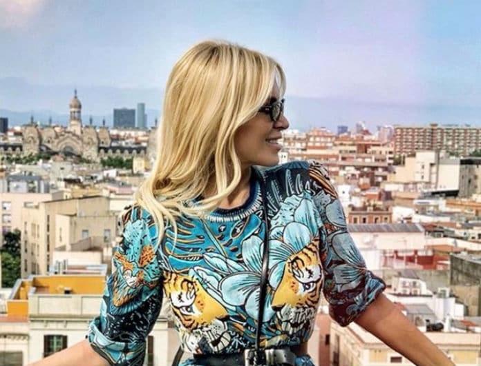 Κατερίνα Καινούργιου: Έδωσε 1.350 ευρώ για αυτή την τσάντα! Εσείς θα την κρατάγατε;