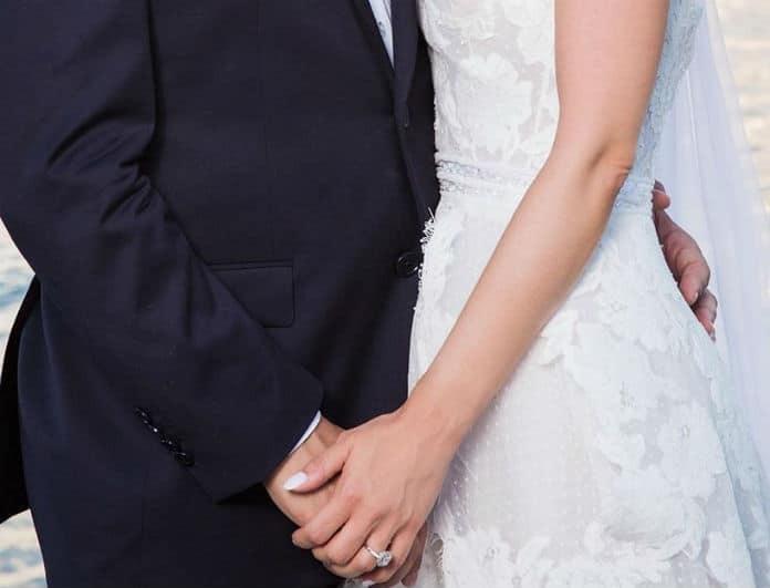 Πασίγνωστο ζευγάρι της ελληνικής showbiz συμπληρώνει 2 χρόνια γάμου! Πως το γιόρτασαν;