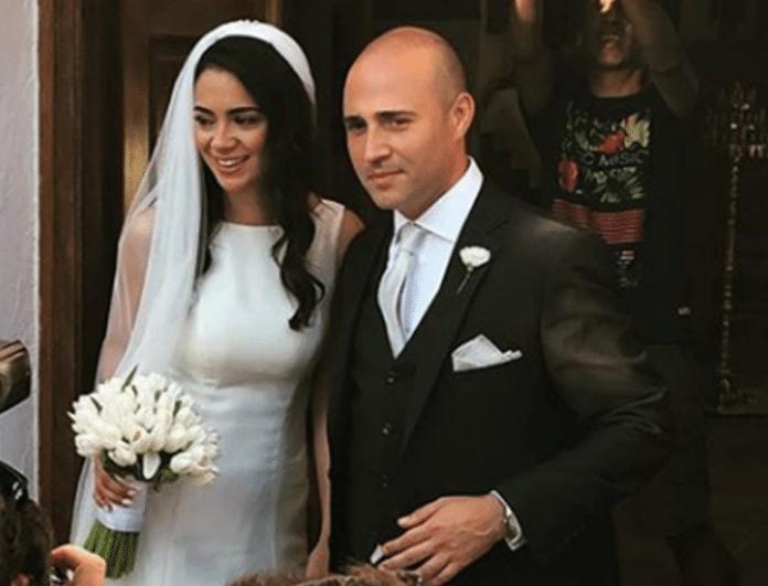 Κωνσταντίνος Μπογδάνος: Οι πρώτες φωτογραφίες από τον γάμο του με την Έλενα Καρβέλα!