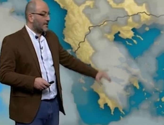 Ο Σάκης Αρναούτογλου προειδοποιεί! Που θα «χτυπήσει» η κακοκαιρία (Βίντεο)