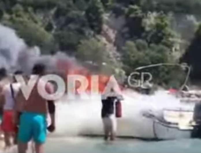 Συναγερμός στην Χαλκιδική μετά από έκρηξη σε σκάφος! Παιδί εκτοξεύθηκε μέσα στη θάλασσα και...