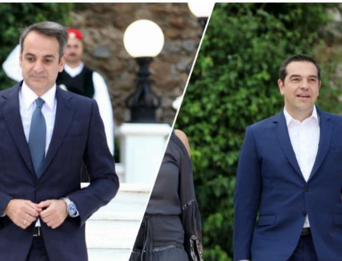 Αλέξης Τσίπρας VS Κυριάκος Μητσοτάκης: Ποιος έκλεψε την παράσταση στο Προεδρικό Μέγαρο;