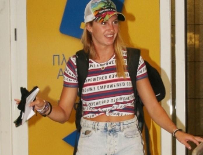 Κατερίνα Δαλάκα: Ο πασίγνωστος άνδρας που την περίμενε στο αεροδρόμιο! Έφυγαν μαζί!