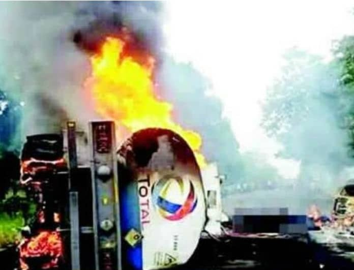 Ισχυρή έκρηξη πετρελαιοφόρου με δεκάδες νεκρούς και τραυματίες!