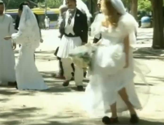 Σμαράγδα Καρύδη: Έτρεχε στο δρόμο με το νυφικό! Έγινε ο γάμος με τον Θοδωρή Αθερίδη;
