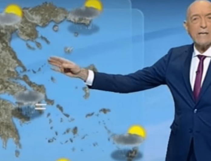 Καιρός: Ο Τάσος Αρνιακός προειδοποιεί! Έρχονται άγρια φαινόμενα! (Βίντεο)