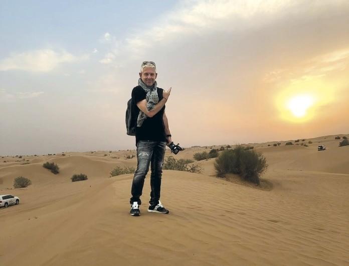 Εικόνες: Ο Τάσος Δούσης στο Ντουμπάι! Δεν χάνεται το δεύτερο μέρος! (Βίντεο)