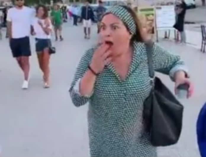 Βίκυ Σταυροπούλου: Άρχισε να φωνάζει μέσα στην μέση του δρόμου! Τι συνέβη; (Βίντεο)