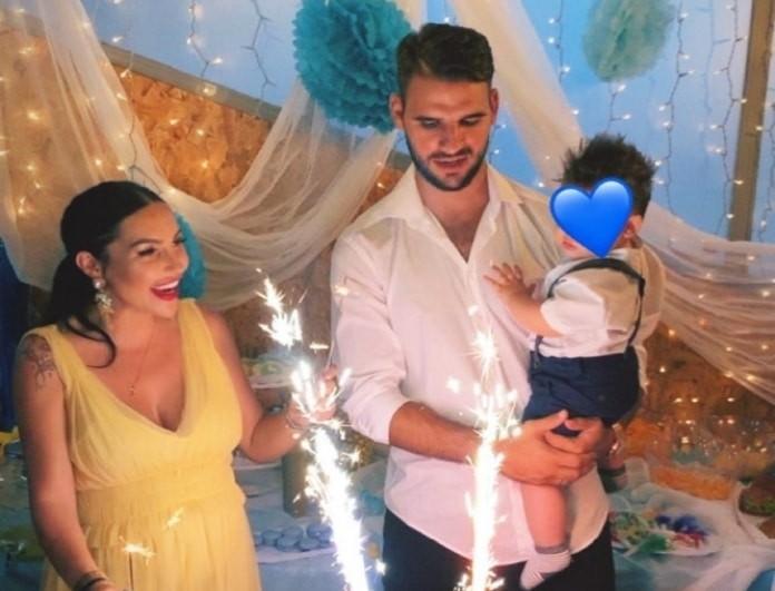 Ζέτα Θεοδωροπούλου - Παναγιώτης Ταχτσίδης: Το πρώτο πάρτι για τα γενέθλια του γιου τους!