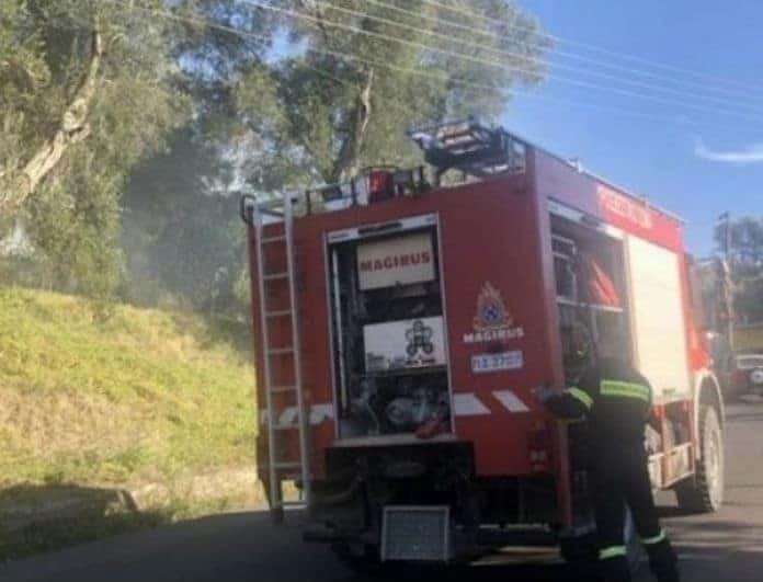 Φωτιά στην Θεσσαλονίκη! Δυσκολίες αντιμετωπίζουν οι πυροσβέστες!