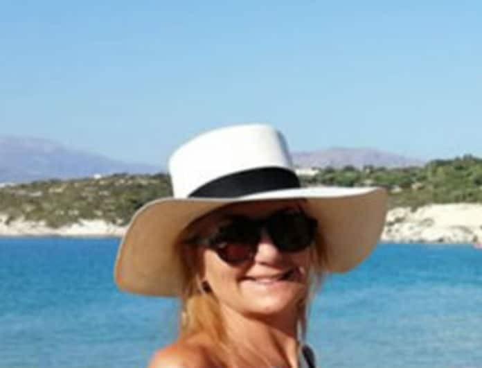 Μαρέβα Μητσοτάκη: Στη θάλασσα με τον Κυριάκο! Το ασπρόμαυρο μαγιό της