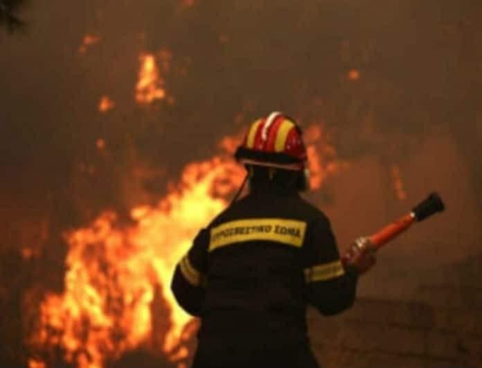 Φωτιά Εύβοια: Αυτή είναι η κατάσταση της υγεία του Πυροσβέστη που τραυματίστηκε από τις φλόγες!