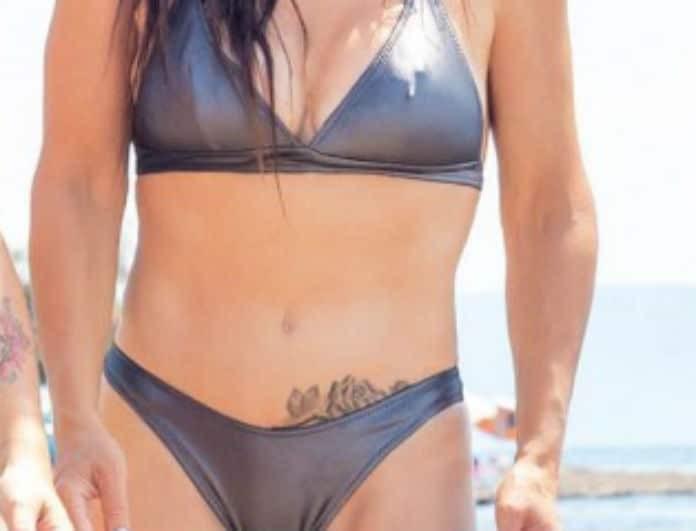 Έφερε καύσωνα η γνωστή Ελληνίδα ηθοποιός! Το τατουάζ που έχει «χαμηλά» προκάλεσε εγκεφαλικά!