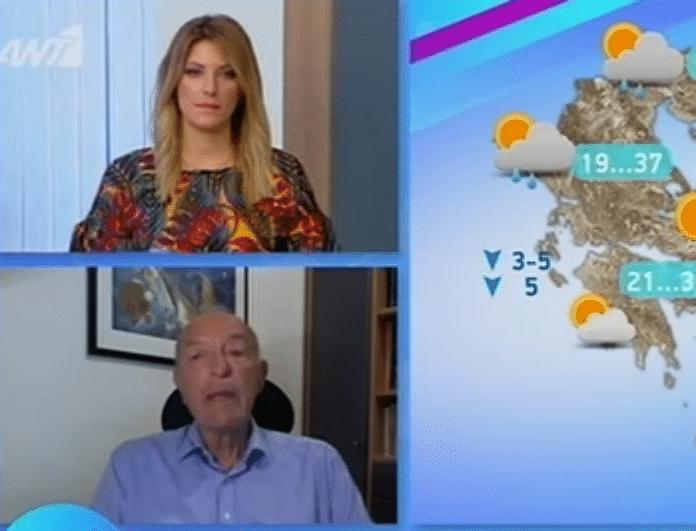 Τάσος Αρνιακός: Προειδοποιεί για ισχυρούς ανέμους και μικρή πτώση θερμοκρασίας! Που θα φτάσει ο υδράργυρος; (Βίντεο)
