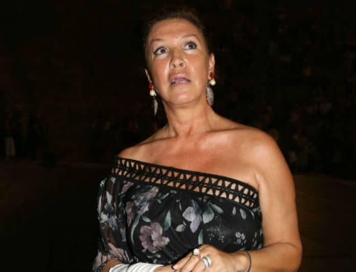 Βάνα Μπάρμπα: Σπάνια δημόσια εμφάνιση με πρώην σύντροφο της!