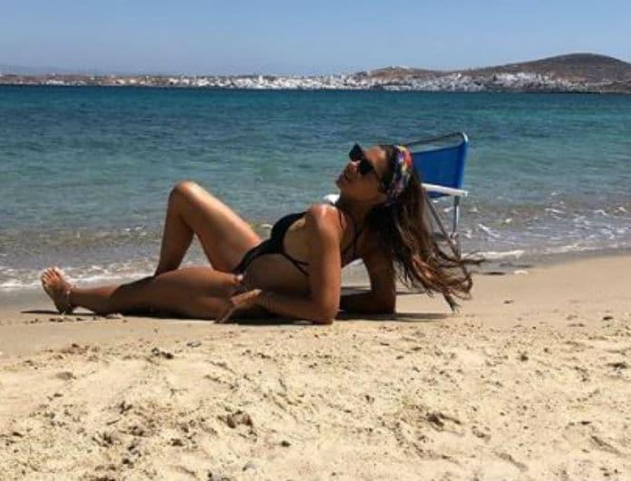 Σταματίνα Τσιμτσιλή: Δεν φαντάζεστε ποια πασίγνωστη Ελληνίδα παρουσιάστρια συνάντησε στις διακοπές!