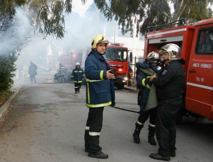 Πυρκαγιά σε διαμέρισμα στην Κρήτη! Στο νοσοκομείο μια γυναίκα!