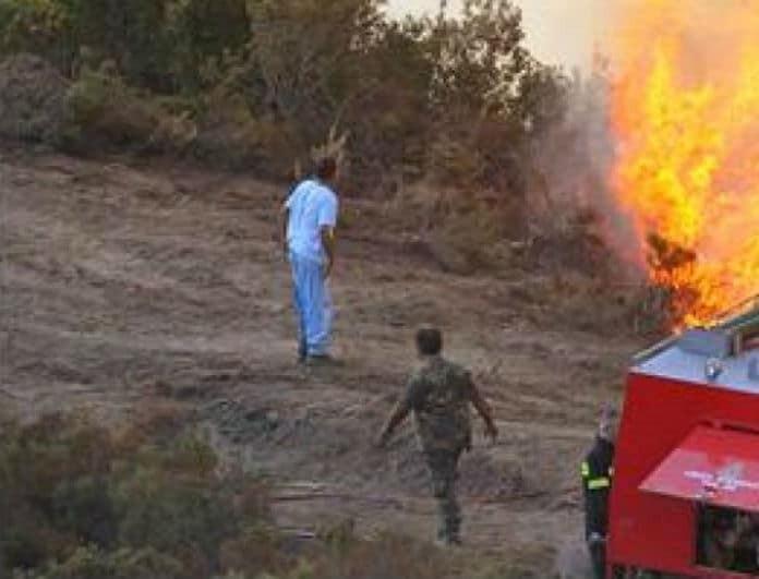 Πυρκαγιά πριν από λίγο στην Κοζάνη!