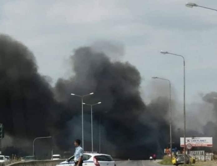Συναγερμός στη Θεσσαλονίκη! Ξέσπασε φωτιά κοντά στο αεροδρόμιο!
