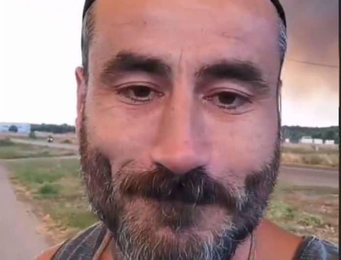 Γιώργος Μαυρίδης: Στιγμιότυπα που σοκάρουν από την φωτιά στην Εύβοια!