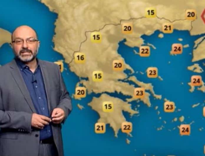 Καιρός σήμερα: Προειδοποιεί ο Σάκης Αρναούτογλου! «Προσοχή σήμερα σε αυτές τις περιοχές»! (Βίντεο)