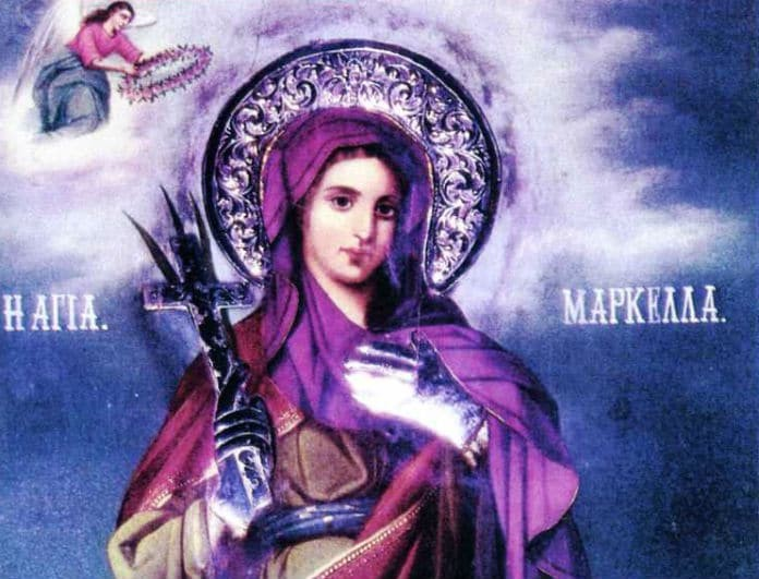 Ανατριχιαστικό βίντεο! Το θαύμα της Αγίας Μαρκέλλας έκανε κόκκινη την Χίο!