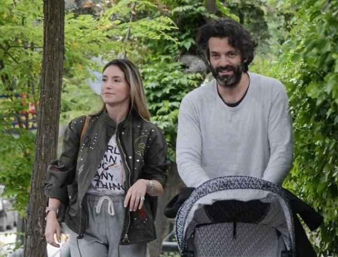 Αθηνά Οικονομάκου - Φίλιππος Μιχόπουλος: Η γλυκιά ευχή του μικρού Μάξιμου στον μπαμπά του!