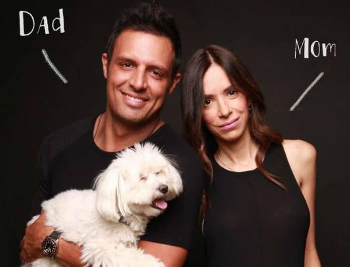 Σάββας Πούμπουρας: Η φωτογραφία με τη σύζυγο του και η δημόσια... γκρίνια!