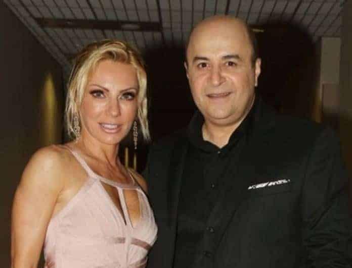 Έλενα Τσαβαλιά: Μαυροφορούσα η σύζυγος του Μάρκου Σεφερλή! Το μήνυμά της!