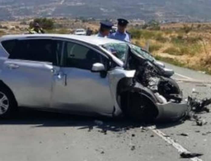 Θανατηφόρο τροχαίο στην Κύπρο! Νεκρή μια γυναίκα και 3 τραυματίες!