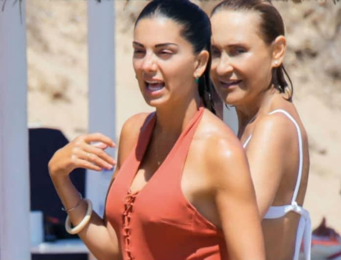Σταματίνα Τσιμτσιλή: Αχώριστη με την Μάρα Ζεχαρέα! Αποκλειστικές φωτογραφίες από τις διακοπές τους στην Πάρο!