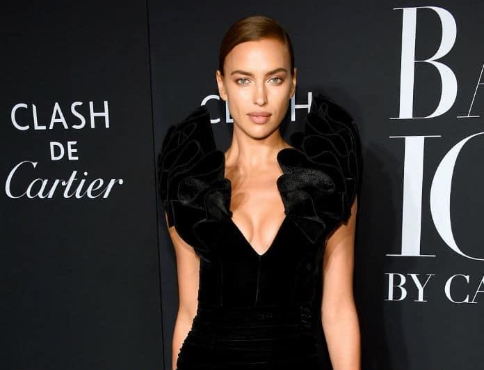 Ιρίνα Σάικ: Εμφανίστηκε με μαύρη βελούδινη φούστα από τα H&M στο κόκκινο χαλί!