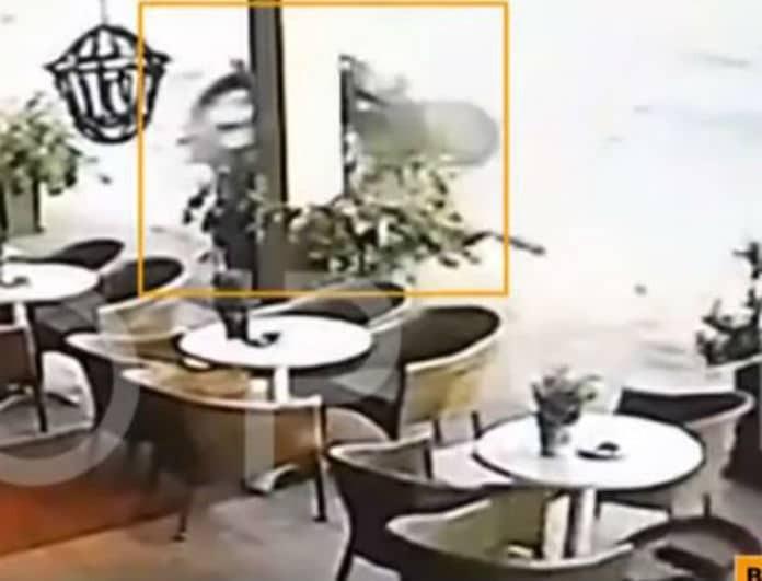 Βίντεο σοκ  από το τροχαίο στην Θεσσαλονίκη! Η στιγμή που αμάξι σκοτώνει οδηγό!
