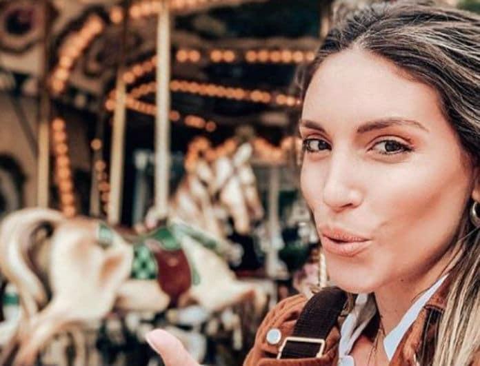 Αθηνά Οικονομάκου: Φίλησε τον άνδρα της όλο πάθος στο στόμα! Αυτή η φωτογραφία έκανε την Μύκονο να