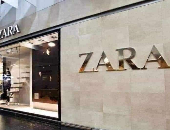 Zara - νέα συλλογή: Αυτό το παντελόνι με τις πούλιες θα το φορέσουν αυτές που τολμούν! Βγαίνει μόνο σε μαύρο...