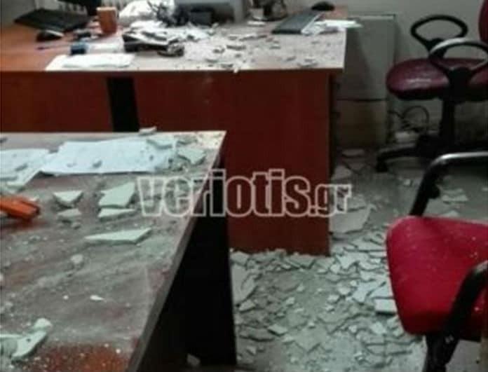Σοκ στο νοσοκομείο Βέροιας: Σοβάδες έπεσαν πάνω σε γιατρούς!