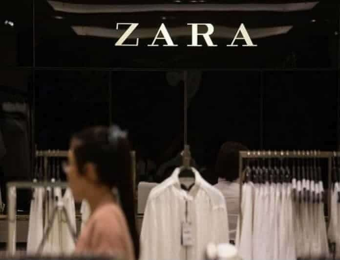 Zara: Ξετρελαμένες οι fashion bloggers με αυτό το καφέ δερμάτινο φόρεμα!