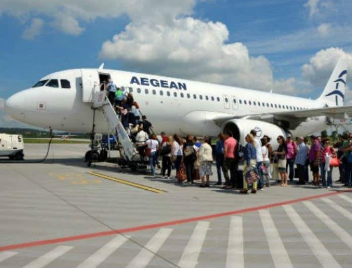 Νέα προσφορά από Aegean! Εισιτήρια από 19 ευρώ!