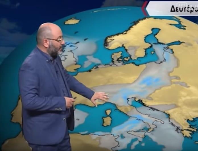 Σάκης Αρναούτογλου: Τι έρχεται στο τέλος της εβδομάδας; (Βίντεο)
