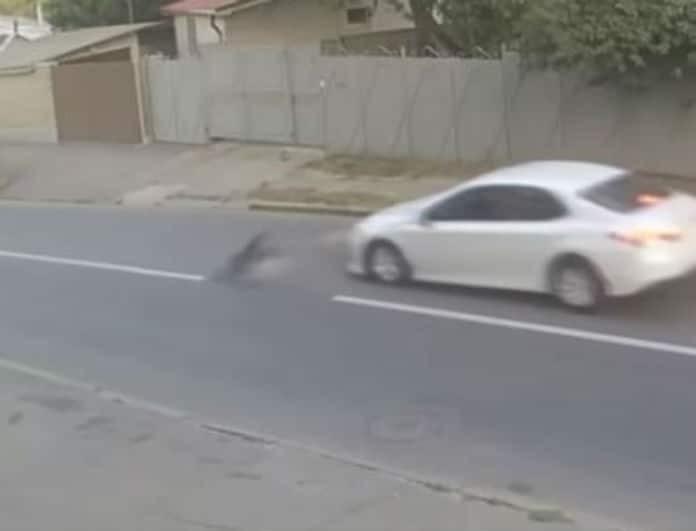 Αυτοκίνητο με υπερβολική ταχύτητα χτύπησε παιδί! Βίντεο που