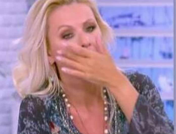 Κατερίνα Γκαγκάκη: Δεν κρατήθηκε και «λύγισε» στον αέρα της εκπομπής! Σκούπιζε τα δάκρυά της! (Βίντεο)