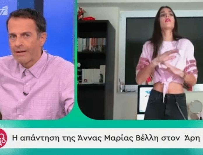 Άρης Καβατζίκης: Η δημόσια απάντηση στα «πυρά» της Άννας Μαρίας Βέλλη! «Δεν βγήκα πάνω σε τραπέζια να κάνω τη γατούλα...»! (Βίντεο)