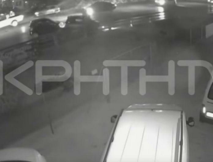 Βίντεο σοκ: Καρέ - καρέ η φονική σύγκρουση στο Ηράκλειο! Πώς σκοτώθηκε ο άτυχος άντρας;