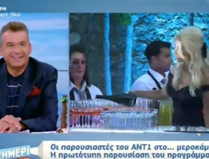 Γιώργος Λιάγκας: Η ατάκα του για την εμφάνιση της Φαίης Σκορδά!