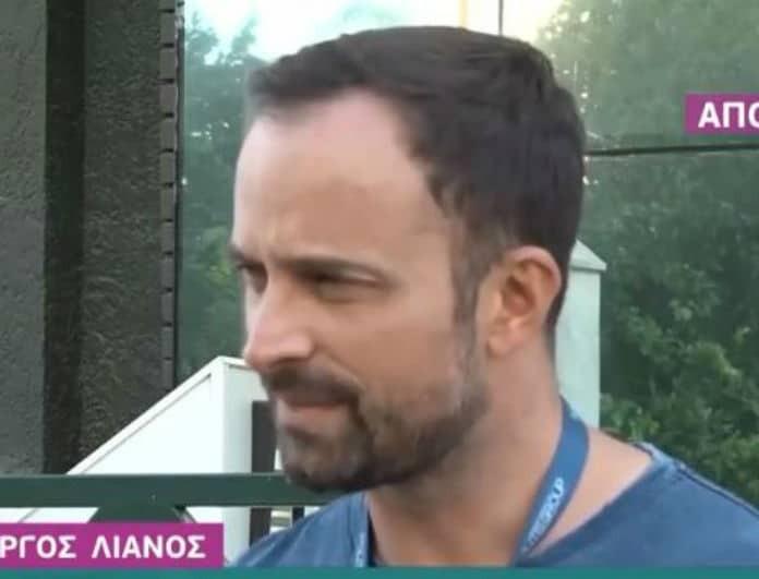 Γιώργος Λιανός: H στεναχώρια για τα λόγια του Λιάγκα και η αποκάλυψη για την παρουσίαση του «The Voice»!