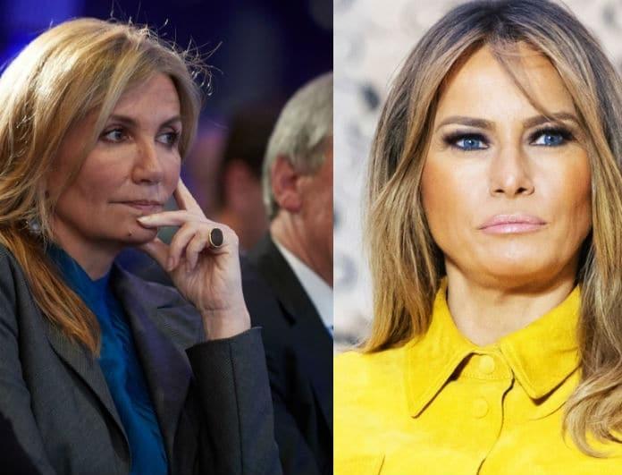 Μαρέβα Μητσοτάκη VS Μελάνια Τραμπ: Ποια φόρεσε καλύτερα το total black;